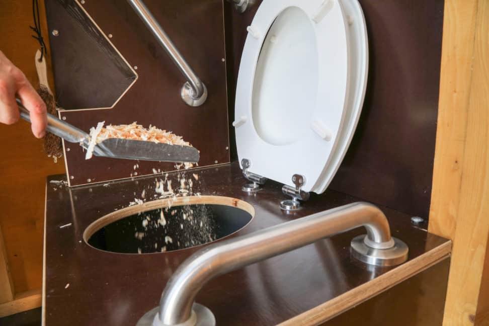 Mobile Toiletten ohne Chemiekeule